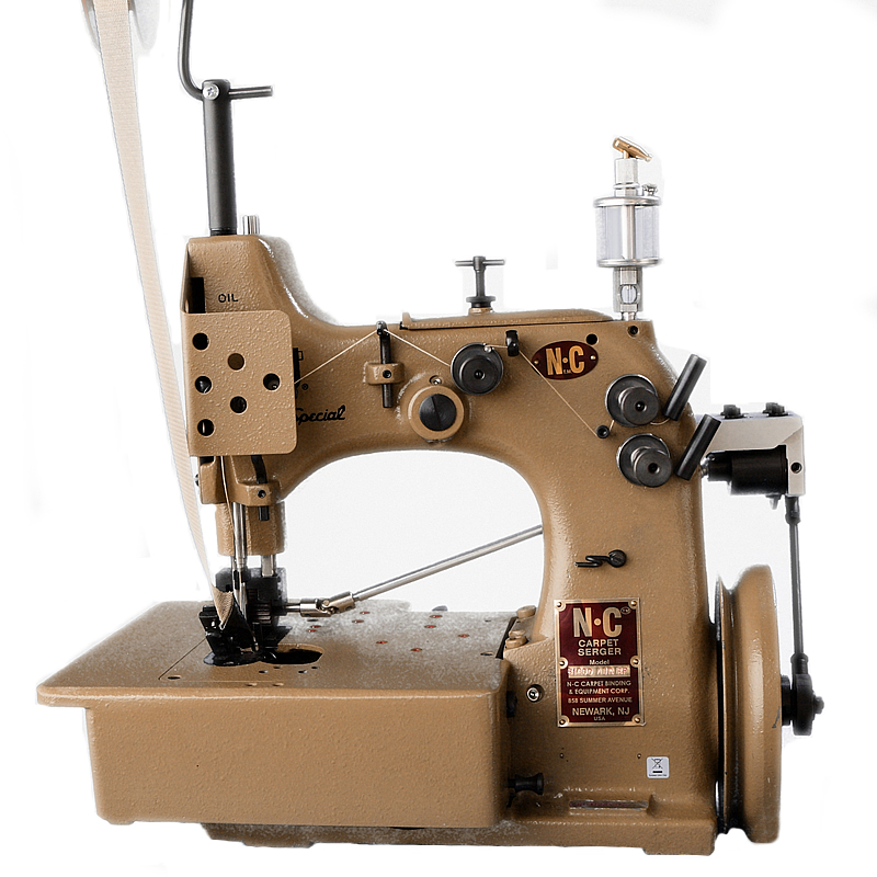 81200AIR-RFWB Cornering Carpet Serger / Overlocker With Puller