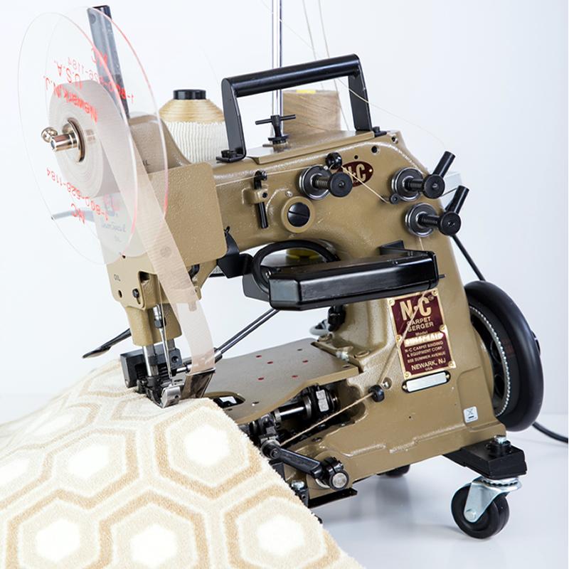 Nc Portable Carpet Serger Ncps