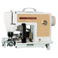 Nc Model Pbt Double Puller Portable Carpet Binding Machine